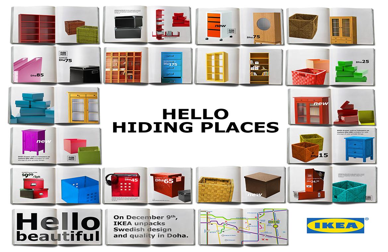 IKEA-Hiding